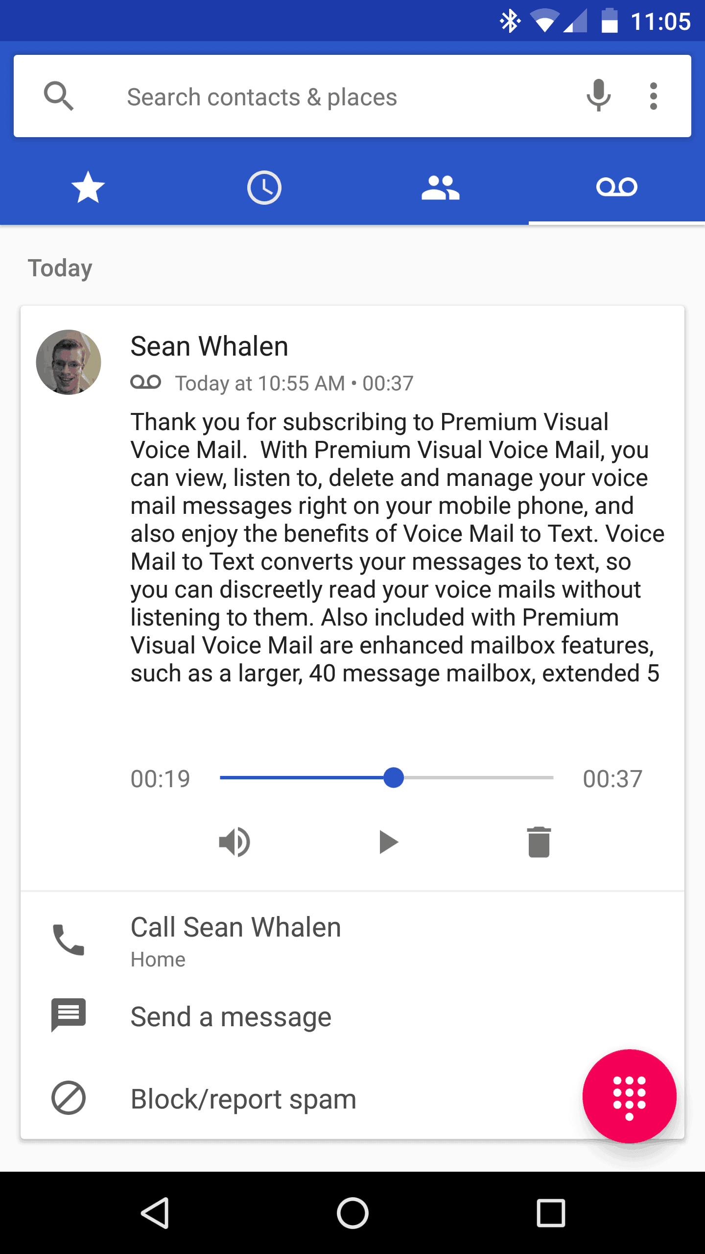 Android 71 Adds Native Android Visual Voicemail Support For Verizon