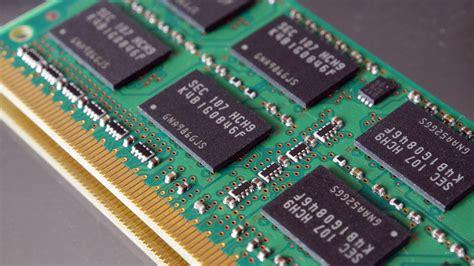 A close-up photo of sticks of computer memory/RAM